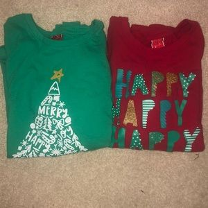 Other - Girls Christmas T-shirt package deal